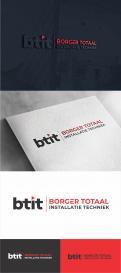 Logo design # 1232704 for Logo for Borger Totaal Installatie Techniek  BTIT  contest