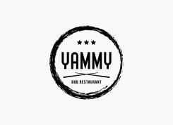 Logo # 1084991 voor ontwerp een horeca logo voor een nieuw te openen asian korean bbq restaurant wedstrijd