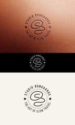 Logo # 1242235 voor Logo voor Tassen en lederwaren designer  Studio Bongaarts in Amsterdam  Steekwoorden  onderweg zijn  moderne retro wedstrijd
