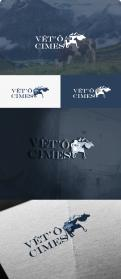 Logo design # 1107335 for Logo for a veterinary practice specialized in large animals in the french Alps contest