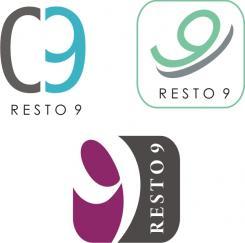 Logo # 260 voor Logo voor restaurant resto 9 wedstrijd