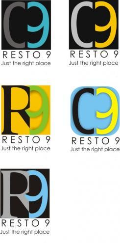 Logo # 293 voor Logo voor restaurant resto 9 wedstrijd