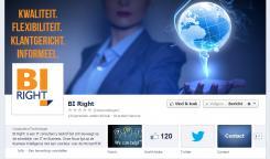 Banner # 327949 voor BI Right! op FB wedstrijd