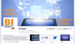 Banner # 327952 voor BI Right! op FB wedstrijd