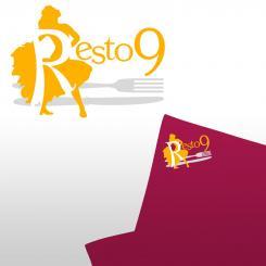 Logo # 277 voor Logo voor restaurant resto 9 wedstrijd