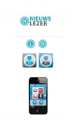 iPhone App design # 161232 voor New Ios App design for existing app 'Nieuwslezer' wedstrijd