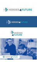 Logo # 1033147 voor Ontwikkel het logo voor helden van de toekomst en het bedrijf waar dit programma bij hoort  voorbij de terminale serieusheid wedstrijd