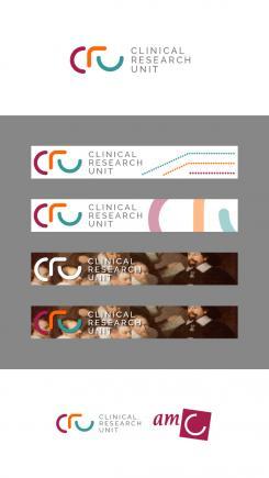 Logo # 612569 voor Ontwerp een zakelijk en rustig  logo voor de afdeling Clinical Research Unit (afkorting: CRU), een afdeling binnen het AMC; een groot academisch ziekenhuis in Amsterdam. wedstrijd