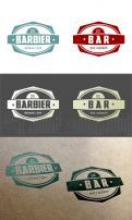 Logo # 296622 voor Vintage logo voor een hippe bar wedstrijd