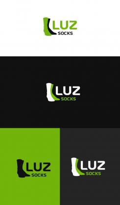 Logo design # 1153851 for Luz' socks contest