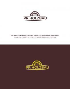 Logo  # 1167796 für Logo fur das Holzbauunternehmen  PR Holzbau GmbH  Wettbewerb