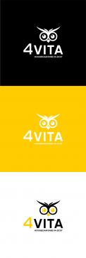 Logo design # 1213334 for 4Vita coaches gifted children  highly intelligent   their parents and schools contest