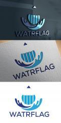 Logo design # 1207932 for logo for water sports equipment brand  Watrflag contest