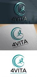 Logo design # 1213674 for 4Vita coaches gifted children  highly intelligent   their parents and schools contest