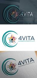 Logo design # 1213676 for 4Vita coaches gifted children  highly intelligent   their parents and schools contest