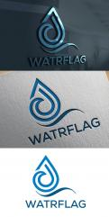 Logo design # 1207924 for logo for water sports equipment brand  Watrflag contest