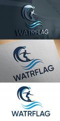 Logo design # 1207926 for logo for water sports equipment brand  Watrflag contest