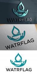 Logo design # 1207929 for logo for water sports equipment brand  Watrflag contest