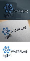 Logo design # 1207930 for logo for water sports equipment brand  Watrflag contest