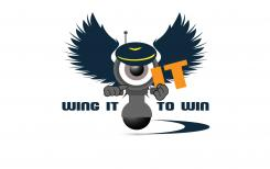 Logo design # 575851 for Wing it to win it! contest