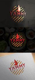 Logo # 1083845 voor ontwerp een horeca logo voor een nieuw te openen asian korean bbq restaurant wedstrijd