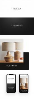 Logo # 1168844 voor Een logo voor studio NOURR  een creatieve studio die lampen ontwerpt en maakt  wedstrijd