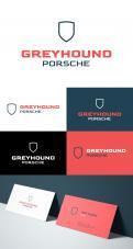 Logo # 1133916 voor Ik bouw Porsche rallyauto's en wil daarvoor een logo ontwerpen onder de naam GREYHOUNDPORSCHE wedstrijd