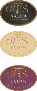 Logo # 444911 voor Emblem style logo for a elegant hair salon wedstrijd