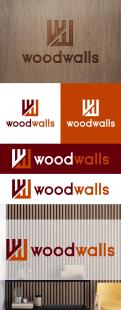 Logo design # 1152216 for modern logo for wood wall panels contest