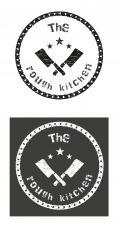 Logo # 381735 voor Logo stoer streetfood concept: The Rough Kitchen wedstrijd
