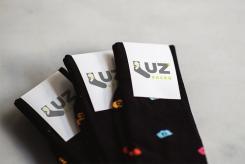 Logo design # 1153637 for Luz' socks contest
