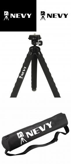 Logo # 1238938 voor Logo voor kwalitatief   luxe fotocamera statieven merk Nevy wedstrijd