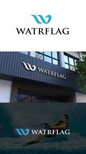 Logo design # 1207386 for logo for water sports equipment brand  Watrflag contest