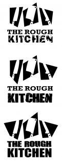 Logo # 381627 voor Logo stoer streetfood concept: The Rough Kitchen wedstrijd