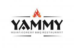 Logo # 1083543 voor ontwerp een horeca logo voor een nieuw te openen asian korean bbq restaurant wedstrijd