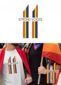 Logo # 1105749 voor Ontwerp logo Europese conferentie van christelijke LHBTI organisaties thema  'Strong Voices' wedstrijd