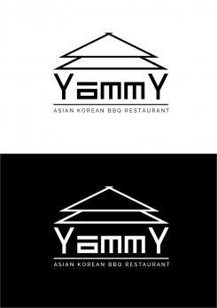 Logo # 1056129 voor ontwerp een horeca logo voor een nieuw te openen asian korean bbq restaurant wedstrijd