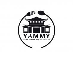 Logo # 1057403 voor ontwerp een horeca logo voor een nieuw te openen asian korean bbq restaurant wedstrijd