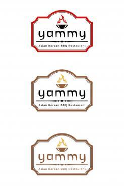 Logo # 1084825 voor ontwerp een horeca logo voor een nieuw te openen asian korean bbq restaurant wedstrijd