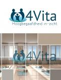 Logo design # 1213587 for 4Vita coaches gifted children  highly intelligent   their parents and schools contest
