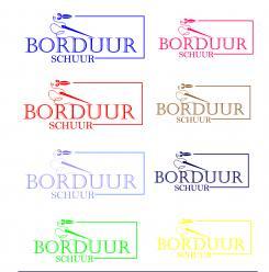 Logo # 1125735 voor Borduurschuur wedstrijd