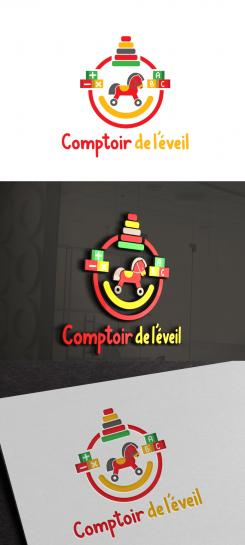 Logo design # 925236 for Creation of a logo for e-commerce site around wooden toys, educational games and didactic material contest