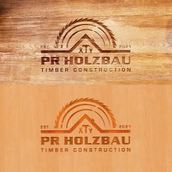 Logo  # 1167615 für Logo fur das Holzbauunternehmen  PR Holzbau GmbH  Wettbewerb