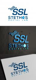 Logo design # 926573 for logo of the new company: Stethos Social Lab ( new subsidiary of Stethos Group) contest