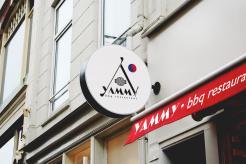 Logo # 1089574 voor ontwerp een horeca logo voor een nieuw te openen asian korean bbq restaurant wedstrijd