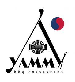 Logo # 1089575 voor ontwerp een horeca logo voor een nieuw te openen asian korean bbq restaurant wedstrijd