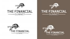Logo design # 1058414 for The Financial Summit   logo with Summit and Bull contest