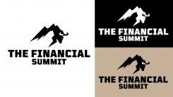 Logo design # 1059454 for The Financial Summit   logo with Summit and Bull contest