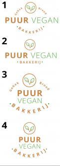 Logo # 977570 voor Logo voor vegan gebak en brood wedstrijd