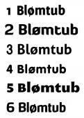 Logo # 1307 voor Blømtub & Blømpot wedstrijd